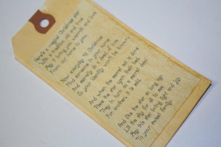 blessing star tradition poem
