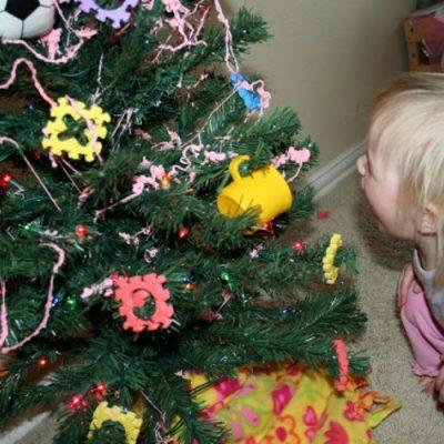 Kids' Christmas Tree Idea