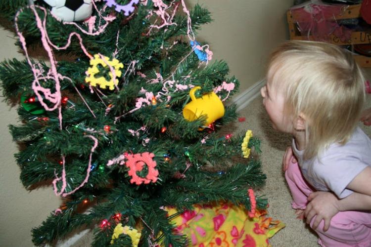 christmas tree idea for kids