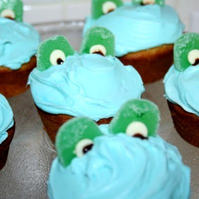 Frog Cupcakes for a Leap Year