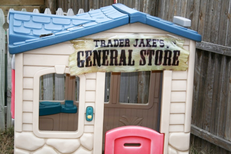 general store at cowboy party