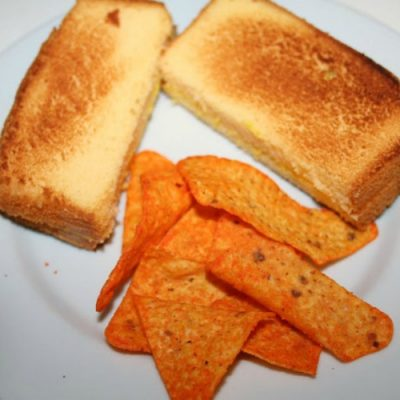 Grilled Cheese April Fool's Day Prank