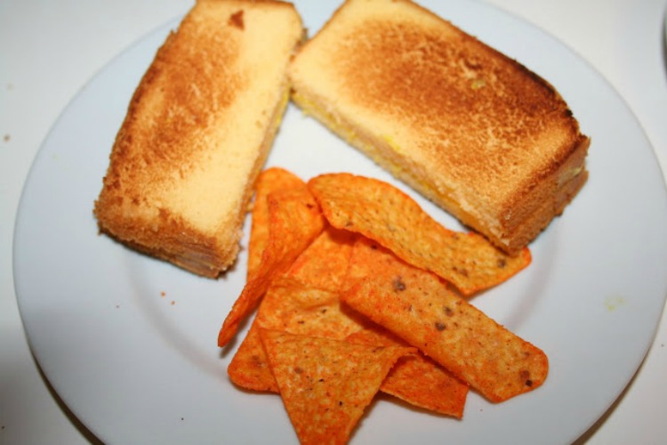 pound cake grilled cheese sandwich pran