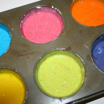 How to Make Bath Paint
