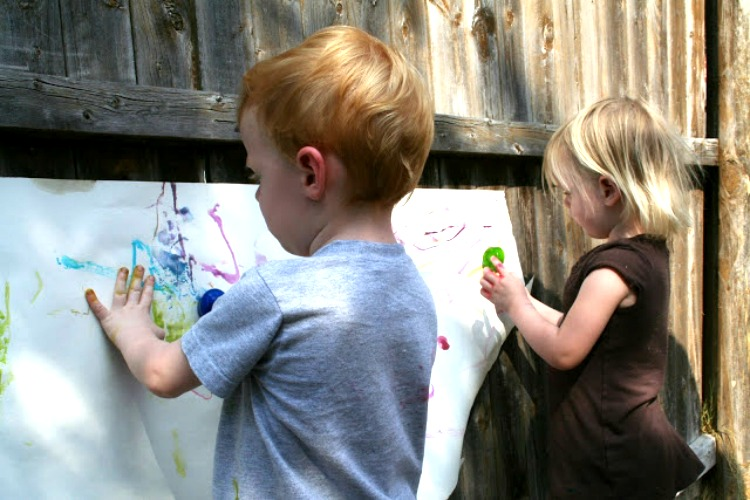 watercolor painting for toddlers