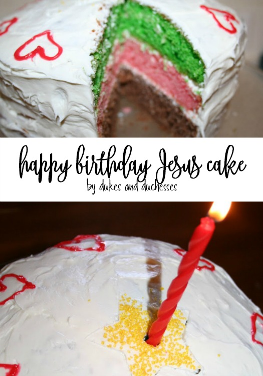 Surprising Happy Birthday Jesus Cake Dukes And Duchesses Personalised Birthday Cards Veneteletsinfo