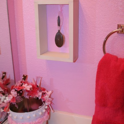 A Pink Bathroom for Girls