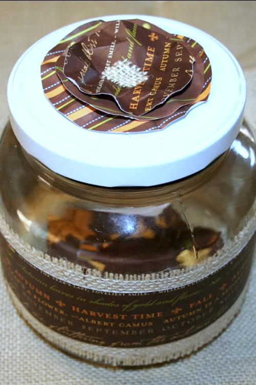 DIY gratitude jar