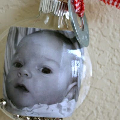 First Christmas Ornament Idea