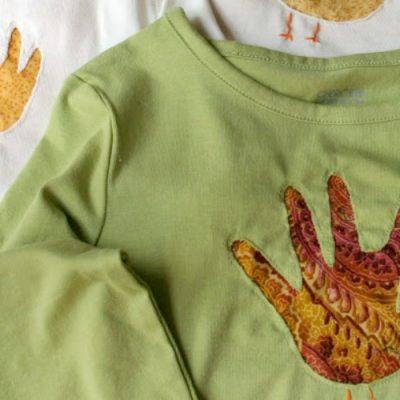 Reverse Applique Turkey Shirts