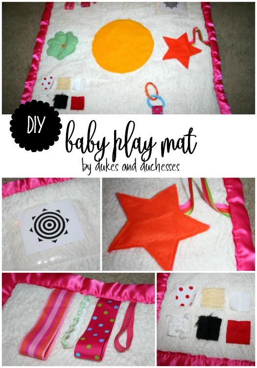 DIY baby play mat