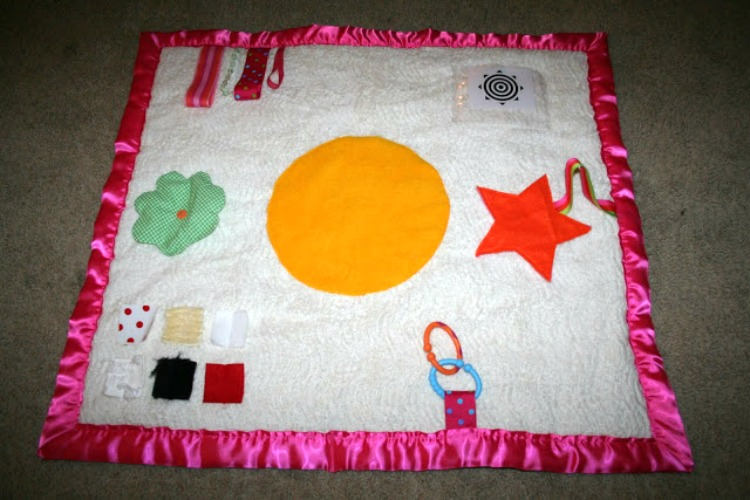 handmade play mat for baby
