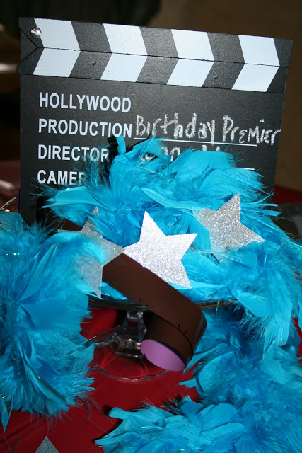 Hollywood premiere birthday party