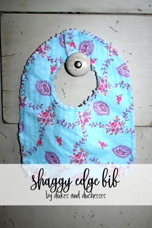 shaggy edge bib