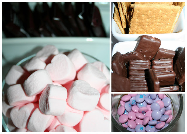 Pink s'mores