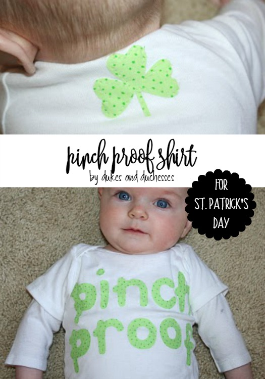 pinch proof shirt for st patrick's day