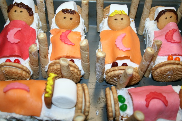 sweet dreams cakes for a pajama party
