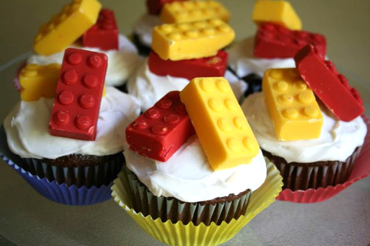 lego candy cupcakes