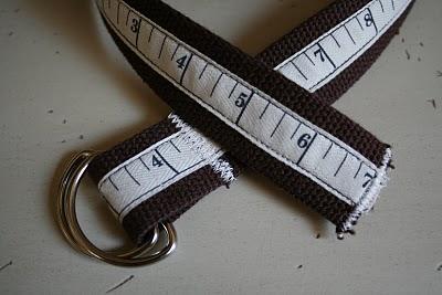 A belt for a boy