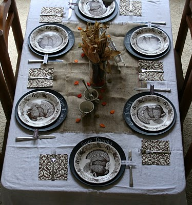 Set :: the thanksgiving table