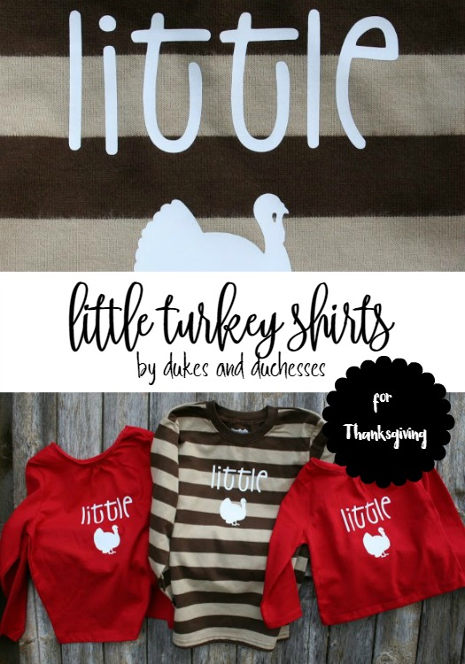 little turkey shirts for thanksgiving