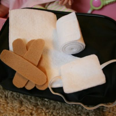 A First Aid Kit for Dolls