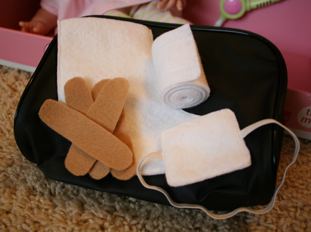 first aid kit for dolls