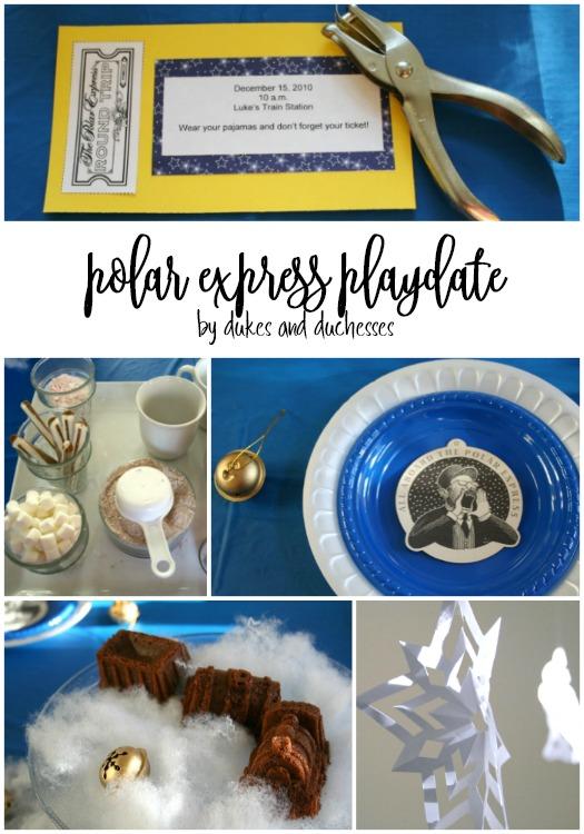polar express playdate
