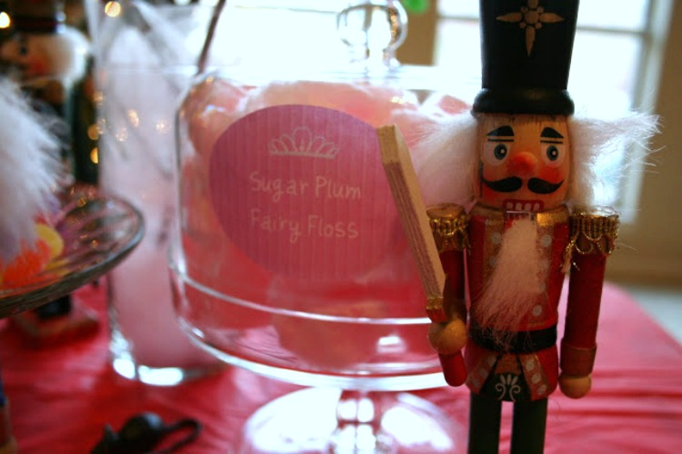 sugar plum fairy floss
