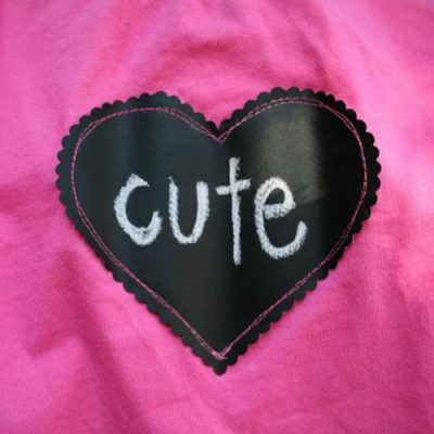 Chalk Cloth Valentine's Day Shirt