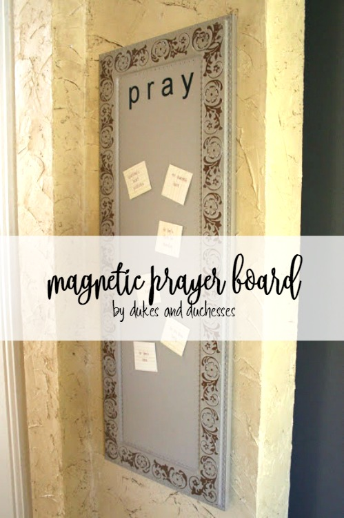 magnetic prayer board