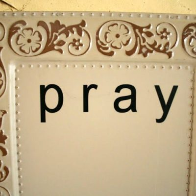 Magnetic Prayer Board