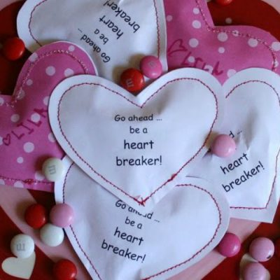 Stitched Candy Hearts