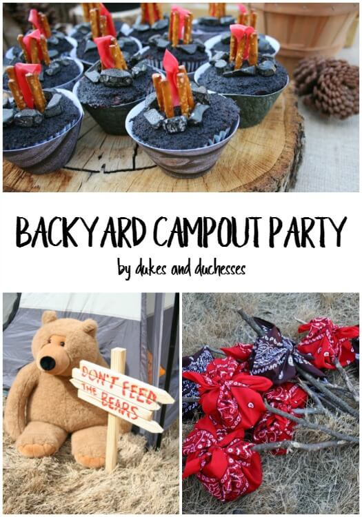 Backyard Campout Party - Dukes and Duchesses on backyard tree forts, backyard tiki hut ideas, backyard playground, backyard beach ideas, backyard field ideas, backyard green ideas, backyard wall ideas, backyard pavilion ideas, backyard house ideas, backyard rock ideas, backyard fall ideas, backyard playhouse, backyard pool ideas,
