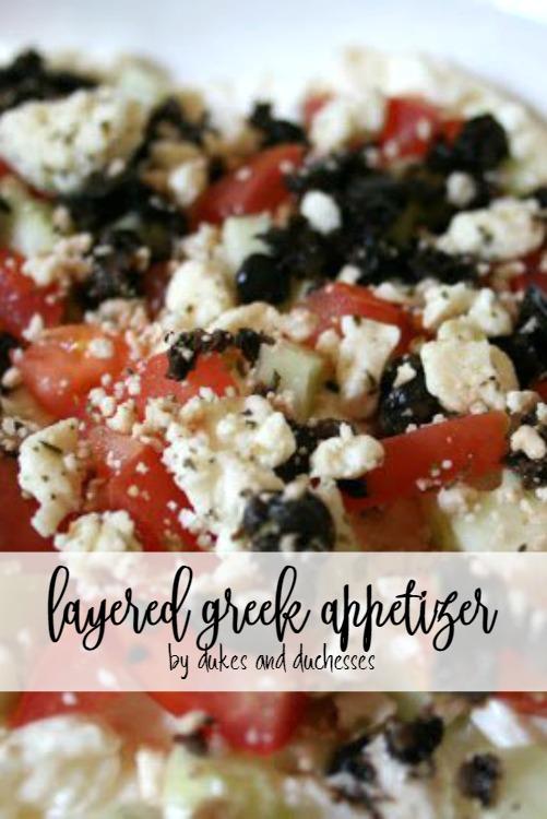 greek appetizer recipe