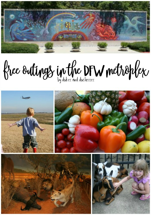 free outings in the dfw metroplex