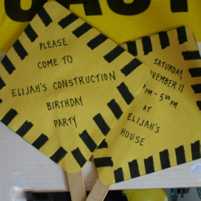 A Construction Party {Old Style} :: Birthday Archives