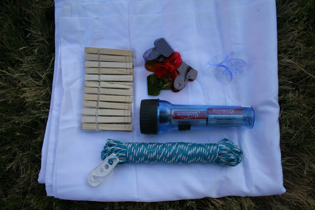 supplies for fort building kit