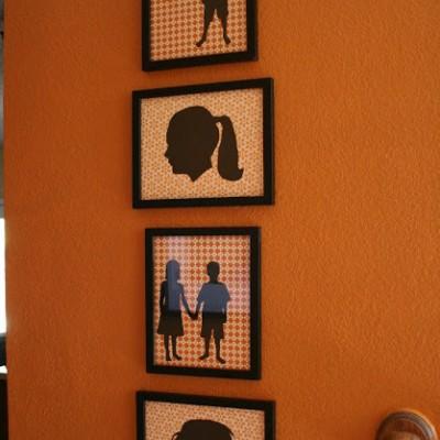 Martha Stewart Inspired Silhouettes