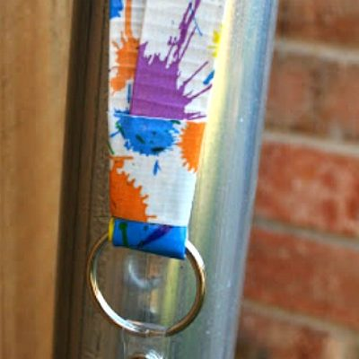 DIY Duct Tape Lanyard
