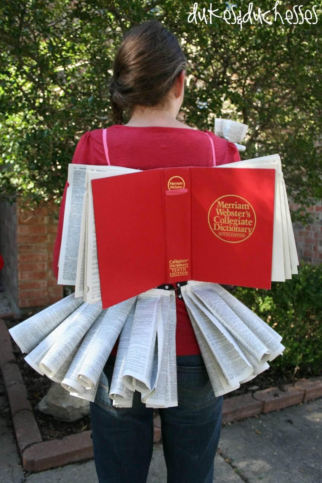 homemade Halloween costume & Book Fairy Halloween Costume - Dukes and Duchesses