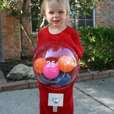 A Gumball Machine Costume