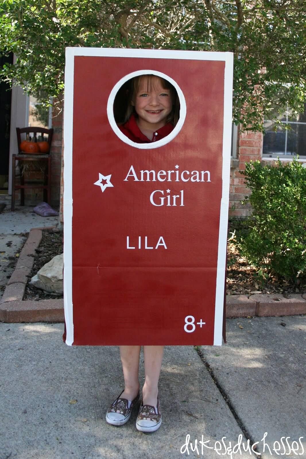 American Girl Costume - Dukes and Duchesses Lila Costume