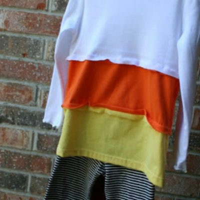A Candy Corn Shirt