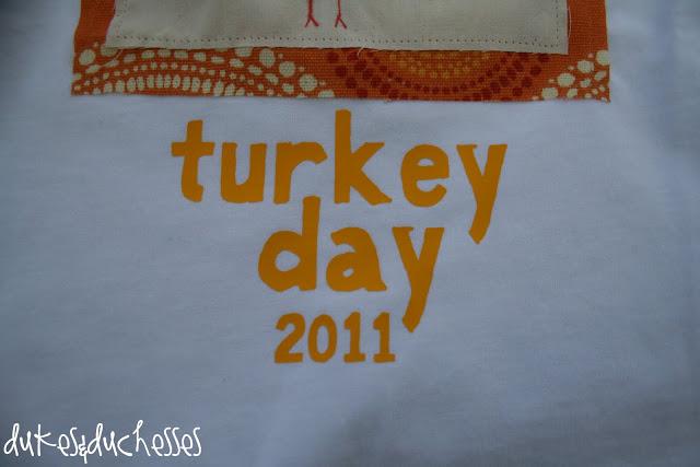 Handprint thanksgiving shirts