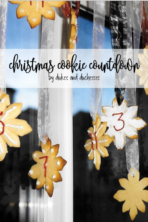 christmas cookie countdown by Randi Dukes