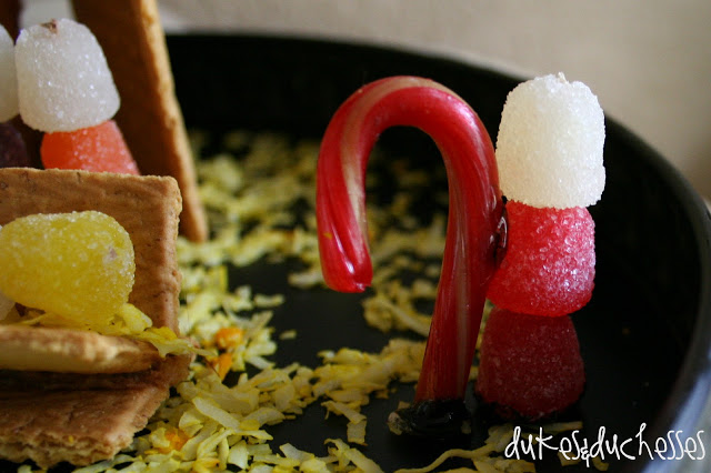 edible nativity scene