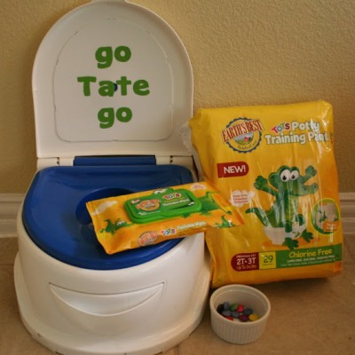 Potty Training with Earth's Best