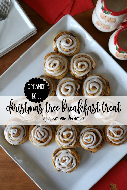 cinnamon roll christmas breakfast treat