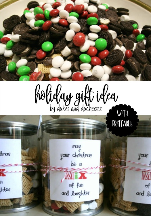 holiday gift idea with printable